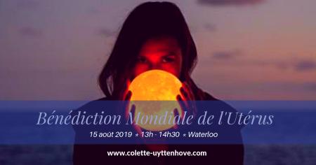 Bénédiction mondiale de l'utérus Waterloo août 2019